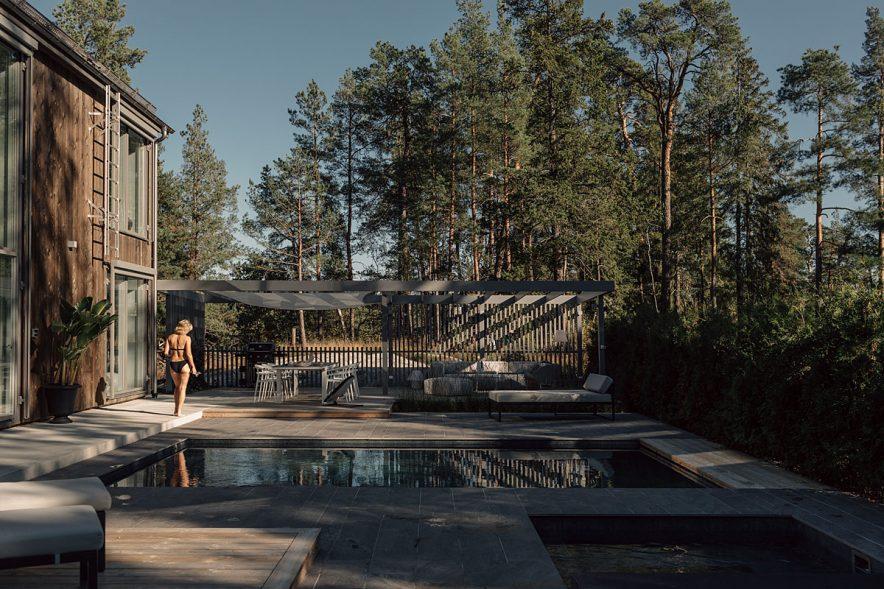 bygga pool