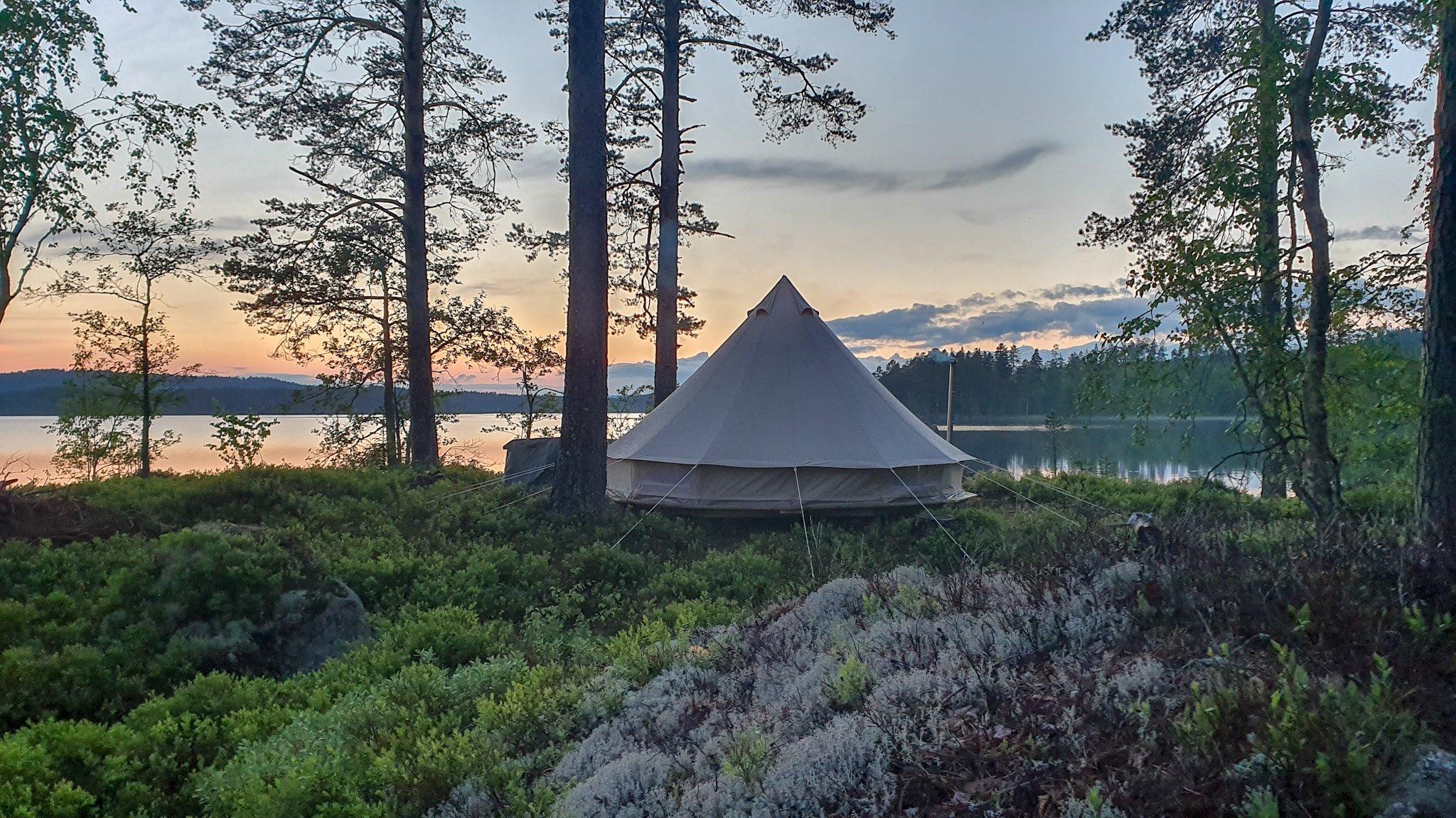 Hippie camp